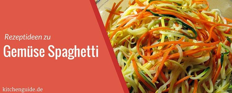 spaghetti gemuese